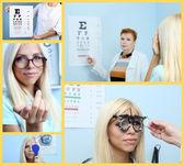Health care, medicine and vision concept — Stock Photo