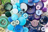 Colorful sewing buttons — Stockfoto
