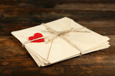 Stack of love letters — Stockfoto