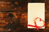 La cinta en forma de corazón — Foto de Stock