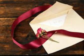 Envelope with love letter — Stock Photo