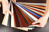 Farbpalette für möbel — Stockfoto