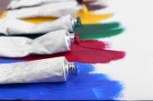 Kolorowe pędzlem — Zdjęcie stockowe