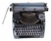 Macchina macchina da scrivere d'epoca — Foto Stock