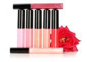 Beautiful lip glosses — Stock Photo