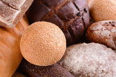 Different bread close-up — Stock Photo