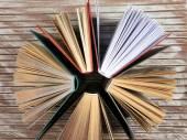Ομάδα των βιβλίων — Φωτογραφία Αρχείου