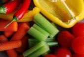Fresh vegetables, macro view — Foto de Stock