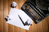 Ročník psací stroj stroj — Stock fotografie