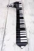Cravate piano trendy — Photo