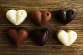 Delicious chocolate candies — Stock Photo