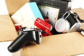 Box of unwanted stuff — Stock Photo