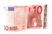 Banconota da dieci euro — Foto Stock