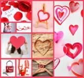 Collage de la Saint-Valentin — Photo