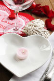 Setting of Valentines Day — Stock Photo