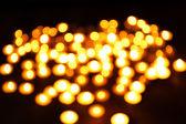 Fundo de luzes de bokeh — Fotografia Stock