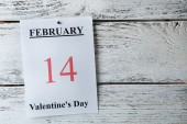 Valentines Day, February 14 — Foto Stock
