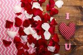 Valentines Day romantic background — Stock Photo