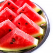Fresh slices of watermelon, close up — Stock Photo #64350703