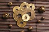 Feng shui monet — Zdjęcie stockowe