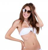 Young woman in swimsuit — Stock Photo