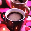 Two cups on table — Stock Photo #64797769