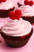 Valentine Day cupcakes — Zdjęcie stockowe