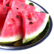 Fresh slices of watermelon, close up — Stock Photo #64816219
