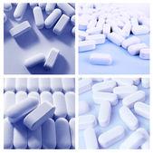 Pills collage — Stock Photo
