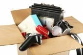 Box of unwanted stuff — Foto de Stock