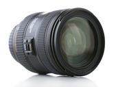Camera lens isolated on white — Foto de Stock