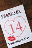 Valentines Day, February 14 — Stock Photo