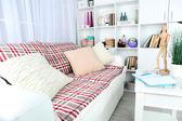 Interior design of living room — Stock Photo