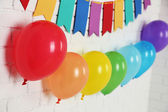 Beautiful decoration for birthday party — Stock Photo