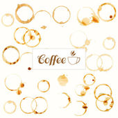 Coffee stains background — Stock Photo