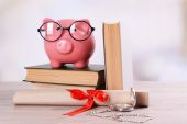 Concept accumulation of knowledge — Stock Photo