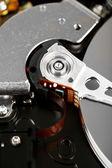ハード ディスク ドライブの詳細のクローズ アップ — ストック写真