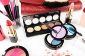 Cosmetici diversi primi piani — Foto Stock