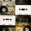 Set of audio cassettes — Stock Photo #68287495