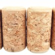 Wine corks on white background — Stock Photo #68524663