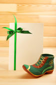 Greeting card for Saint Patrick's Day — Stock Photo