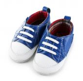 Baby shoes isolated on white — Stock Photo