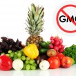 Juicy fruits and vegetables without gmo — Stock Photo #69385589