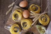 Still life of preparing pasta — Foto de Stock