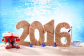 New year 2016 sign — Stock Photo