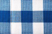 Squared napkin close up — Stock Photo