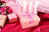 Presente handmade no dia dos namorados — Fotografia Stock