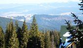 View of Carpathian Mountains — Stock Photo