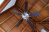 Ceiling fan, indoors — Stock Photo