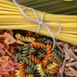 Different types of pasta close up — Stock Photo #70040741